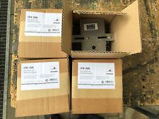 4xMonacor ITH-300 Masthalterungsset für ELA-Druckkammerlautsprecher oder Kameras