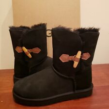 UGG Australia Keely short boot Black NEW size 9