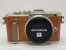 Olympus PEN E-PL8 16.1MP Micro 4/3 Digital Camera - Orange (Body Only)