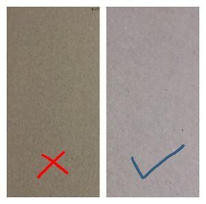 A6 Sheets Greyboard Grey Backing Board 1.5mm 1500 micron Thick Craft Card Gray