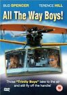 ALL THE WAY BOYS DVD Bud Spencer Terence Hill  Guisepp Brand New Sealed UK R2