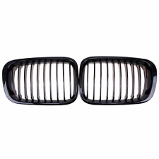 Gloss Black Grille Kidney Grill for BMW E46 3 Series 323i 4 Door 98-01NEW