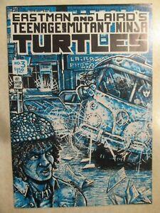 Teenage Mutant Ninja Turtles 3 first printing 1985 Mirage Eastman Laird 1st TMNT