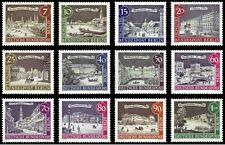 EBS West Berlin 1962-1963 Scenes of Old Berlin Michel 218-229 MNH**