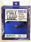 Projex  8 ft. W x 12 ft. L Light Duty  Polyethylene  Tarp  Blue