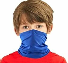 Kids Bandana neck Gaiter tube Headwear For Boys & Girls Mask washable & Reusable
