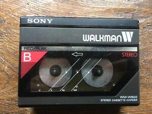 SONY WM-W800 DOUBLE DECK WALKMAN SERVICED