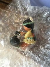 Nib Enesco Friends of the Feather 1997 The Loon's Necklace Figurine 326615