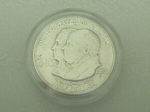 1923 S Monroe Doctrine Commemorative Silver Half Dollar 50 Cent Hard Case!