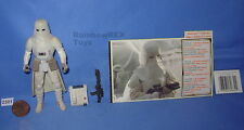 """Star Wars 1997 SNOWTROOPER with File Card & UPC 3.75"""" Figure COMPLETE"""