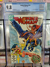 WONDER WOMAN #299 (1983) - CGC GRADE 9.8 - BATTLE WITH AEGEUS IN THE SKIES!