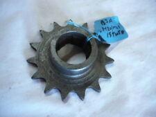 BSA WD M20 M21 gearbox sprocket 15 teeth ( Old Stock)