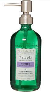 PECKSNIFFS 'Remedy' Rosehip & Wheatgerm + Glass Soap Dispenser 500ml