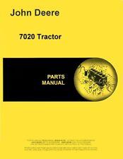 John Deere 7020 Diesel Tractor Parts Manual Catalog Pc1236