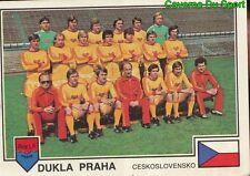 278 TEAM DUKLA PRAHA REP.CZECH VIGNETTE STICKER EURO FOOTBALL 79 PANINI