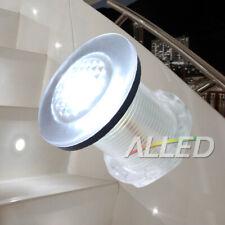 12V Waterproof LED Courtesy Light Livewell Bait Tank/Garden/Boat Lamp Cool White