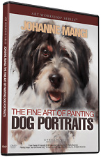 Johanne Mangi: The Fine Art Of Painting Dog Portraits - Art DVD