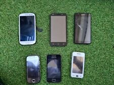 Lot de 6 téléphones portables vintages
