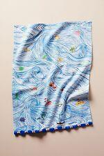 Anthropologie Sal Del Mar Dish Towel NWT