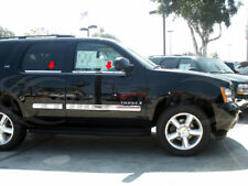 07-2014 Chevy Tahoe 4Pc Chrome Window Sill Trim Accent Stainless Steel Overlay