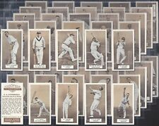 CARRERAS-FULL SET- CRICKET ERS (BROWN SERIES OF 50 CARDS) - EXC+++