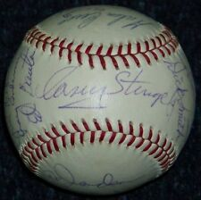 ONCE IN A LIFETIME! 1963 Mets Team Signed Baseball Ball Casey Stengel JSA LOA!