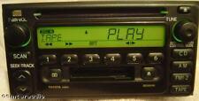 01 02 TOYOTA AM FM Radio Stereo CD Tape Cassette Player A56814 Celica MR2 Echo