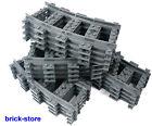 LEGO CITY TREN Raíles Doblada 16 Stück 7938,7939 .3677 ,60051,60052, 60098