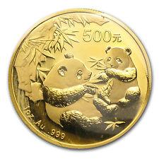 2006 China 1 OZ GOLD PANDA BU (versiegelt) - SKU #11957