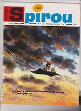 SPIROU n°1491 du 10 Novembre 1966 - Superbe état