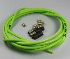 HYDRAULIC DISC BRAKE HOSE KIT FOR AVID JUICY 3 CODE GREEN 3M MADE WITH KEVLAR