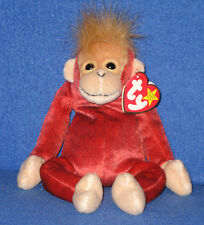 TY SCHWEETHEART the ORANGUTAN BEANIE BABY - MINT with MINT TAGS