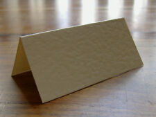 100 Hammered Ivory Wedding Table Place Name Cards Blank