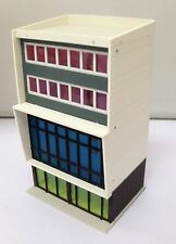 Outland Models Railway Colored Modern Building Stylish Shopping Centre N Scale