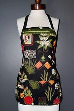 FRIDA KAHLO, APRON, REVERSIBLE APRON, MEXICAN CHIC, MEXICAN FOLK, VINTAGE LOVER