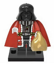 Christmas Santa Claus Anakin Skywalker Darth Vader Minifigure Fits Lego USA