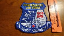 CONFEDERATE AIR FORCE GHOST SQUADRON PATCH UNITED STATES AIR FORCE F16 BX L #105
