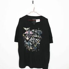 Vintage BLIZZARD Big Logo Graphic T Shirt Tee Black | 2XL