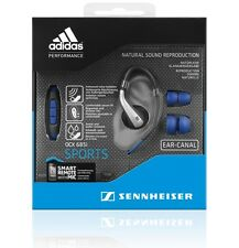 NUOVO Sennheiser OCX 685i Sports in-ear Canal Cuffie Smart Remote con microfono UK