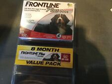 Frontline Plus Flea Control For Dog 89-132 Lbs 6 Months Supply- 6 Pack Not 8