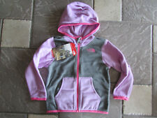 NEW THE NORTH FACE GLACIER FLEECE JACKET FULL ZIP HOODIE INFANTS GIRLS 18-24M