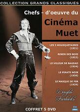 Coffret 5 DVD Douglas Fairbanks : Les chefs-d'œuvre du cinéma muet