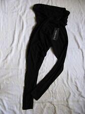 Rinascimento Donna Pantaloni Stretch tubo LEGGINGS TG S l28 HIGH WAIST TUBE LEG w27