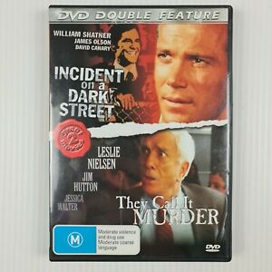 Incident On Dark Street / They Call It Murder DVD - All Regions - TRACKED POST