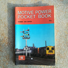 More details for motive power pocket book 1979 (platform 5) - no underlinings