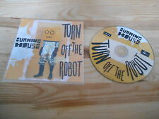 CD Pop Burning House - Turn Off The Robot (3 Song) Promo NAIVE AUDIO KITCHEN
