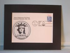 Celebrating the 100th Anniversary of the Statue of Liberty & First Day Cover