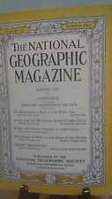 National Geographic Magazine Nat Geo August 1931(NG23)