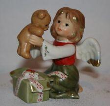 "Goebel ,Engel mit Teddy, ""Mein bester Freund"" Farbe Winterzauber I Wahl u. OVP"