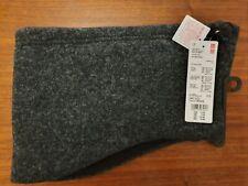 Uniqlo Heattech Knitted Neck Warmer - Dark Grey